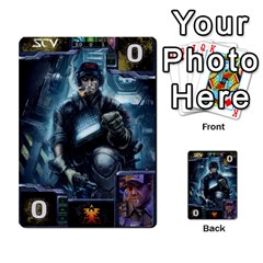 Starcraft Ii Planning Poker By Pek   Multi Purpose Cards (rectangle)   Ip32aoqffbgc   Www Artscow Com Front 27