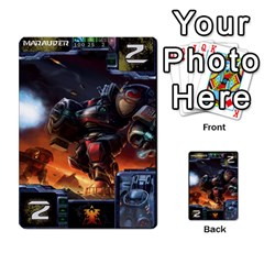 Starcraft Ii Planning Poker By Pek   Multi Purpose Cards (rectangle)   Ip32aoqffbgc   Www Artscow Com Front 30