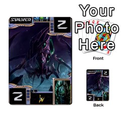 Starcraft Ii Planning Poker By Pek   Multi Purpose Cards (rectangle)   Ip32aoqffbgc   Www Artscow Com Front 4