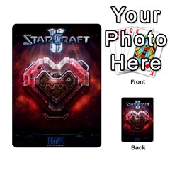Starcraft Ii Planning Poker By Pek   Multi Purpose Cards (rectangle)   Ip32aoqffbgc   Www Artscow Com Back 32