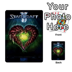 Starcraft Ii Planning Poker By Pek   Multi Purpose Cards (rectangle)   Ip32aoqffbgc   Www Artscow Com Back 50
