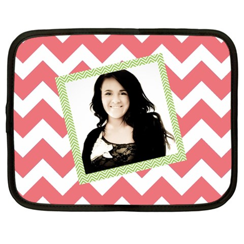 Chevron Netbook Case By Danielle Christiansen   Netbook Case (xl)   M9mjqvgli5bd   Www Artscow Com Front