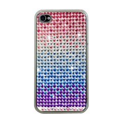 Rainbow Colored Bling Apple Iphone 4 Case (clear) by artattack4all