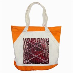 Red Glitter Bling Snap Tote Bag by artattack4all