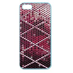 Red Glitter Bling Apple Seamless Iphone 5 Case (color) by artattack4all