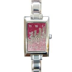 Mauve Gradient Rhinestones  Classic Elegant Ladies Watch (rectangle) by artattack4all