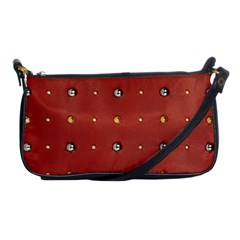 Studded Faux Leather Red Evening Bag by artattack4all
