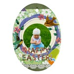 easter - Oval Ornament (Two Sides)