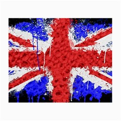Distressed British Flag Bling Twin Sided Glasses Cleaning Cloth by artattack4all