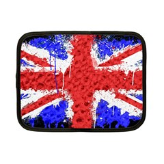 Distressed British Flag Bling 7  Netbook Case by artattack4all