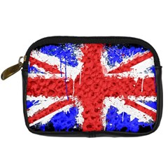 Distressed British Flag Bling Compact Camera Case by artattack4all
