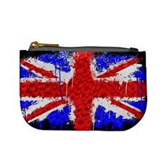 Distressed British Flag Bling Coin Change Purse by artattack4all