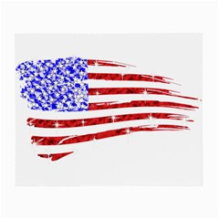 Sparkling American Flag Glasses Cleaning Cloth by artattack4all