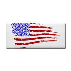 Sparkling American Flag Hand Towel by artattack4all