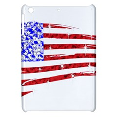 Sparkling American Flag Apple Ipad Mini Hardshell Case by artattack4all