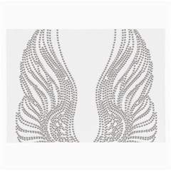 Angel Bling Wings Single Sided Handkerchief by artattack4all