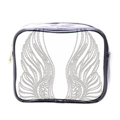 Angel Bling Wings Single Sided Cosmetic Case by artattack4all