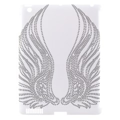 Angel Bling Wings Apple Ipad 3/4 Hardshell Case (compatible With Smart Cover) by artattack4all