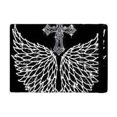 Bling Wings And Cross Apple Ipad Mini Flip Case by artattack4all