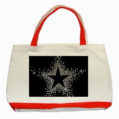 Sparkling Bling Star Cluster Red Tote Bag by artattack4all