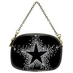 Sparkling Bling Star Cluster Single Sided Evening Purse by artattack4all