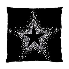 Sparkling Bling Star Cluster Single Sided Cushion Case by artattack4all