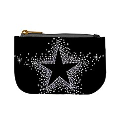 Sparkling Bling Star Cluster Coin Change Purse by artattack4all
