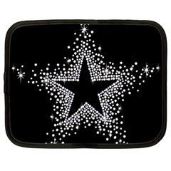 Sparkling Bling Star Cluster 15  Netbook Case by artattack4all