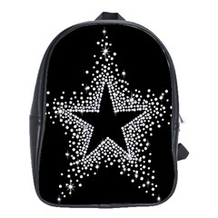 Sparkling Bling Star Cluster Large School Backpack by artattack4all