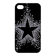 Sparkling Bling Star Cluster Apple Iphone 4/4s Hardshell Case by artattack4all