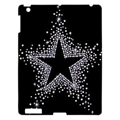 Sparkling Bling Star Cluster Apple Ipad 3/4 Hardshell Case by artattack4all