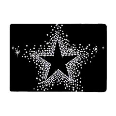 Sparkling Bling Star Cluster Apple Ipad Mini Flip Case by artattack4all