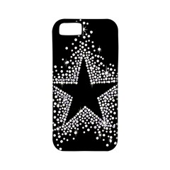 Sparkling Bling Star Cluster Apple iPhone 5 Classic Hardshell Case (PC+Silicone)