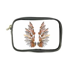 Brown Feather Wing Ultra Compact Camera Case by artattack4all