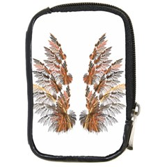 Brown Feather Wing Digital Camera Case by artattack4all
