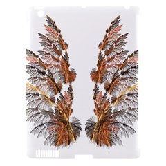 Brown Feather Wing Apple Ipad 3/4 Hardshell Case (compatible With Smart Cover) by artattack4all