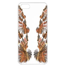Brown Feather Wing Apple Iphone 5 Seamless Case (white) by artattack4all