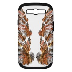 Brown Feather Wing Samsung Galaxy S Iii Hardshell Case (pc+silicone) by artattack4all