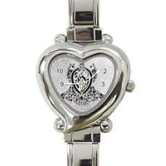Diamond Bling Lion Classic Elegant Ladies Watch (heart) by artattack4all
