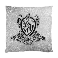 Diamond Bling Lion Twin Sided Cushion Case by artattack4all