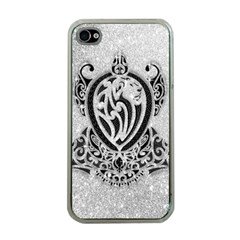 Diamond Bling Lion Apple Iphone 4 Case (clear) by artattack4all