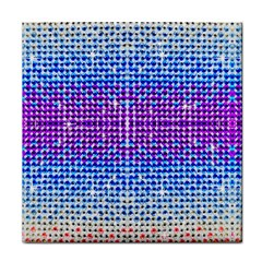 Rainbow Of Colors, Bling And Glitter Ceramic Tile by artattack4all