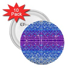 Rainbow Of Colors, Bling And Glitter 10 Pack Regular Button (round) by artattack4all