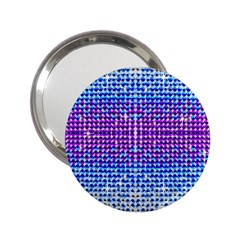 Rainbow Of Colors, Bling And Glitter Handbag Mirror by artattack4all