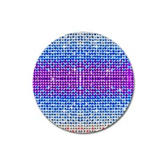 Rainbow Of Colors, Bling And Glitter Large Sticker Magnet (round) by artattack4all