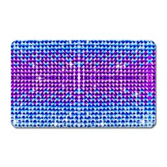 Rainbow Of Colors, Bling And Glitter Large Sticker Magnet (rectangle) by artattack4all