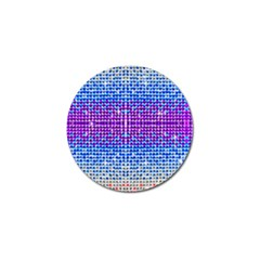 Rainbow Of Colors, Bling And Glitter 10 Pack Golf Ball Marker by artattack4all