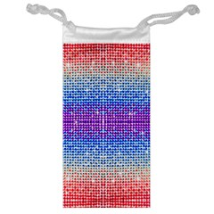 Rainbow Of Colors, Bling And Glitter Glasses Pouch by artattack4all