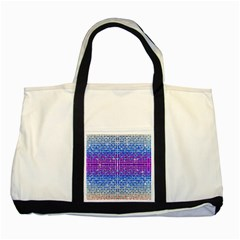 Rainbow Of Colors, Bling And Glitter Two Toned Tote Bag by artattack4all