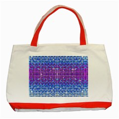 Rainbow Of Colors, Bling And Glitter Red Tote Bag by artattack4all